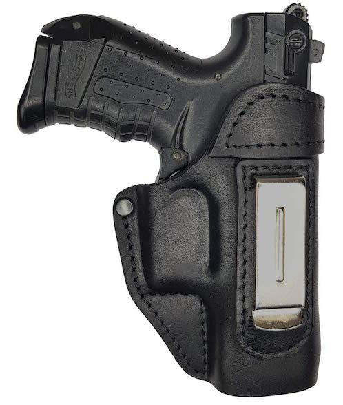 leather iwb holster for Walther PK380 thumb