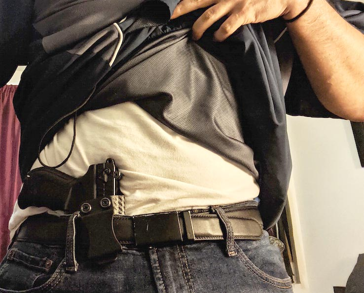 walther pk380 appendix carry holster position