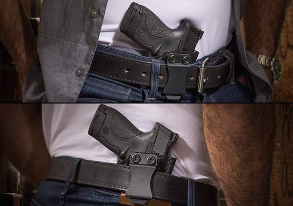 most comfortable appendix carry holster