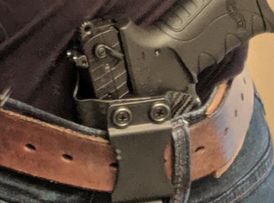 AIWB holster canted