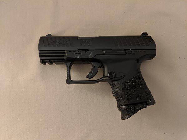 size of handguns: subcompact 9mm pistol