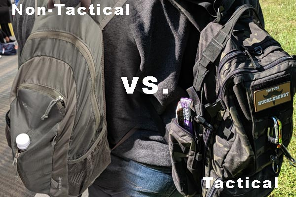 Tactical vs. Non-Tactical EDC Bags