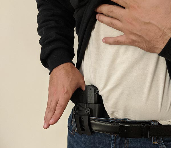 pros and cons of the comptac infidel holster