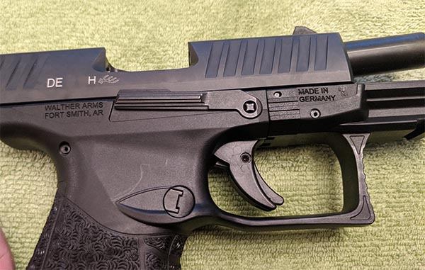 Step 1:  How To Disassemble Walther PPQ M2