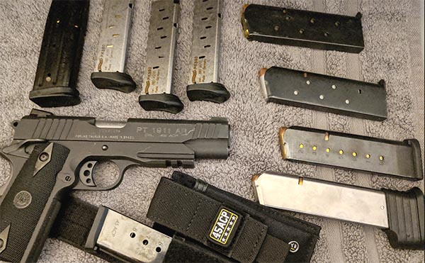 How Many Pistol Magazines Should You Have?