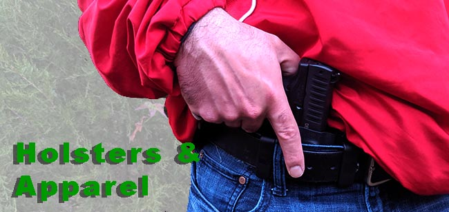 concealed carry holsters and apparel
