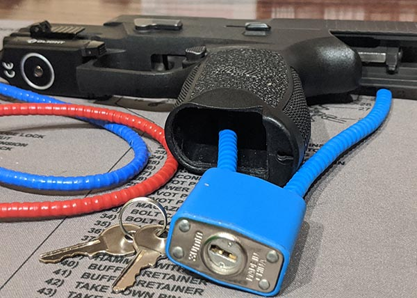 How To Use A Pistol Cable Lock: Revolvers & Automatics