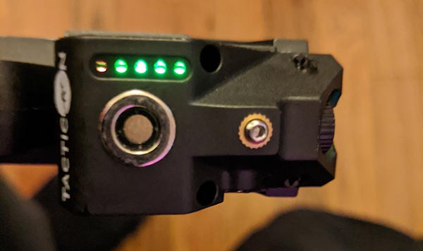 tacticon armament furefly battery status lights