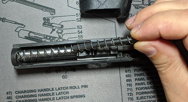 pk380 recoil spring and guide rod removal