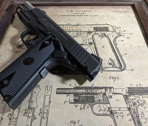most popular handgun design - Browning 1911