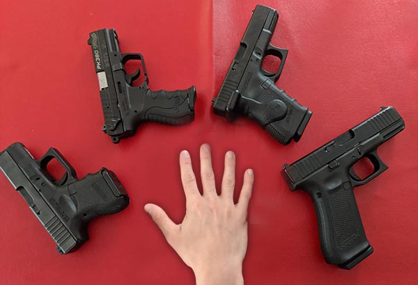 Best Concealed Carry Handgun For Small Hands