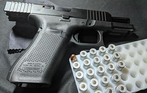 Glock - most popular handgun make by production volume