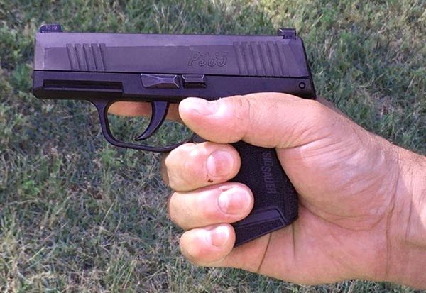 sig sauer p365 best concealed carry handgun for small hands