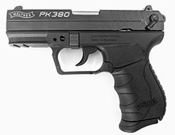 .380 concealed carry handgun for small hands - walther pk380