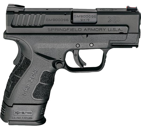 small concealed carry handgun for a woman - springfield XDS