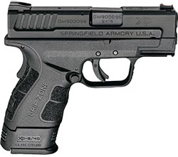 one of the best handguns for small hands - springfield xds mod-2 subcompact