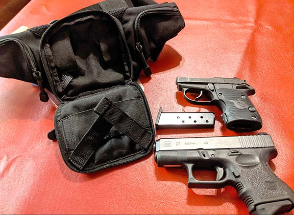best concealed carry fanny pack for micro pistols