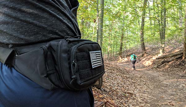 concealed carry fanny pack for running and working out
