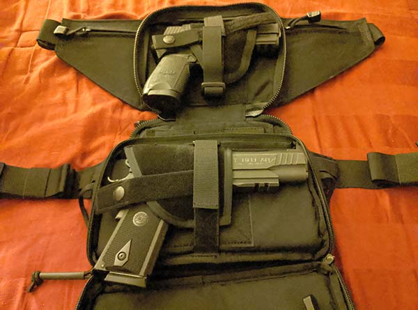 concealed carry fanny pack dimensions