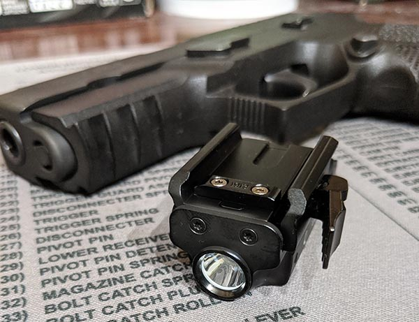 best pistol light under $100
