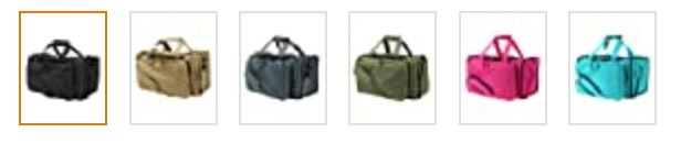 osage river tactical range bag color and size options