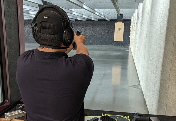 practice distance for shooting test