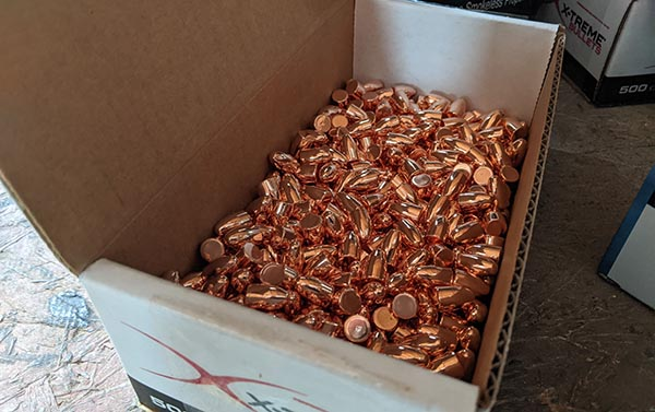 find reloading supplies like these bullets from Xtreme direct from manufacturers