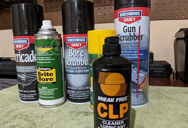 take your gun apart to use proper solvents appropriately