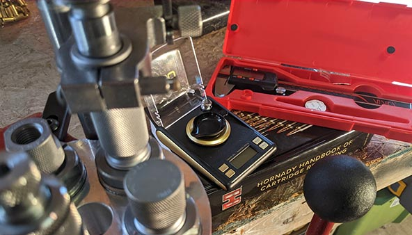 misc. tools and equipment for reloading 9mm ammo