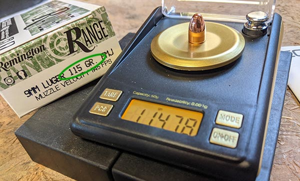what are grains in ammo - the weight of the bullet