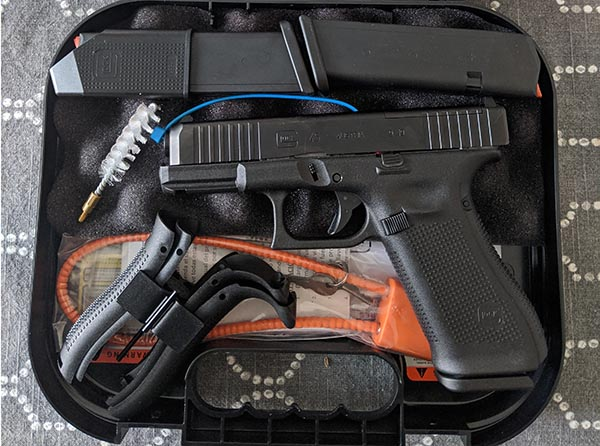 can you shoot a gun straight out of the box? - newly purchased Glock