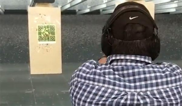 what a target looks like when riding the recoil