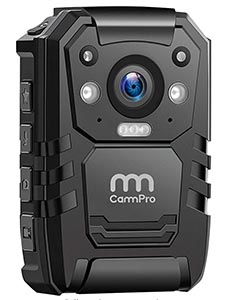 body camera to capture any events when carrying