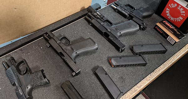do practice shooting with the firearm you plan to carry